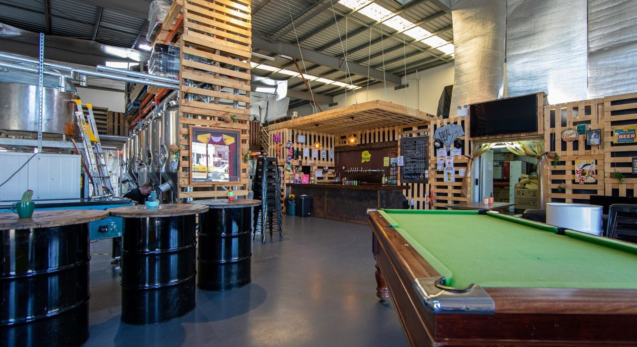 Brendale Brewing Co Interior Tap Room Moreton Bay Region