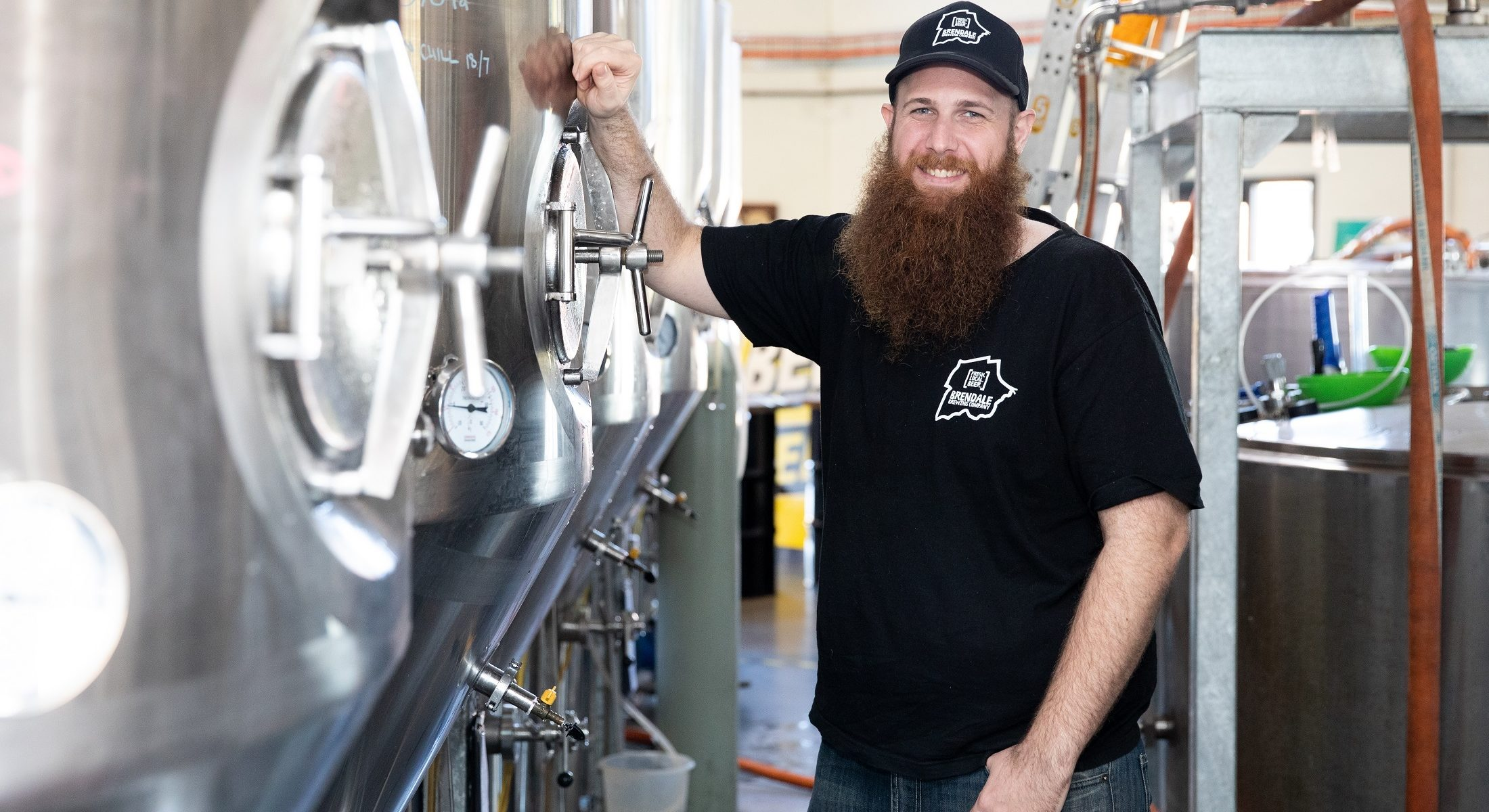 Brendale Brewing Co Owner Head Brewer Ryan Mc Causland Moreton Bay Region
