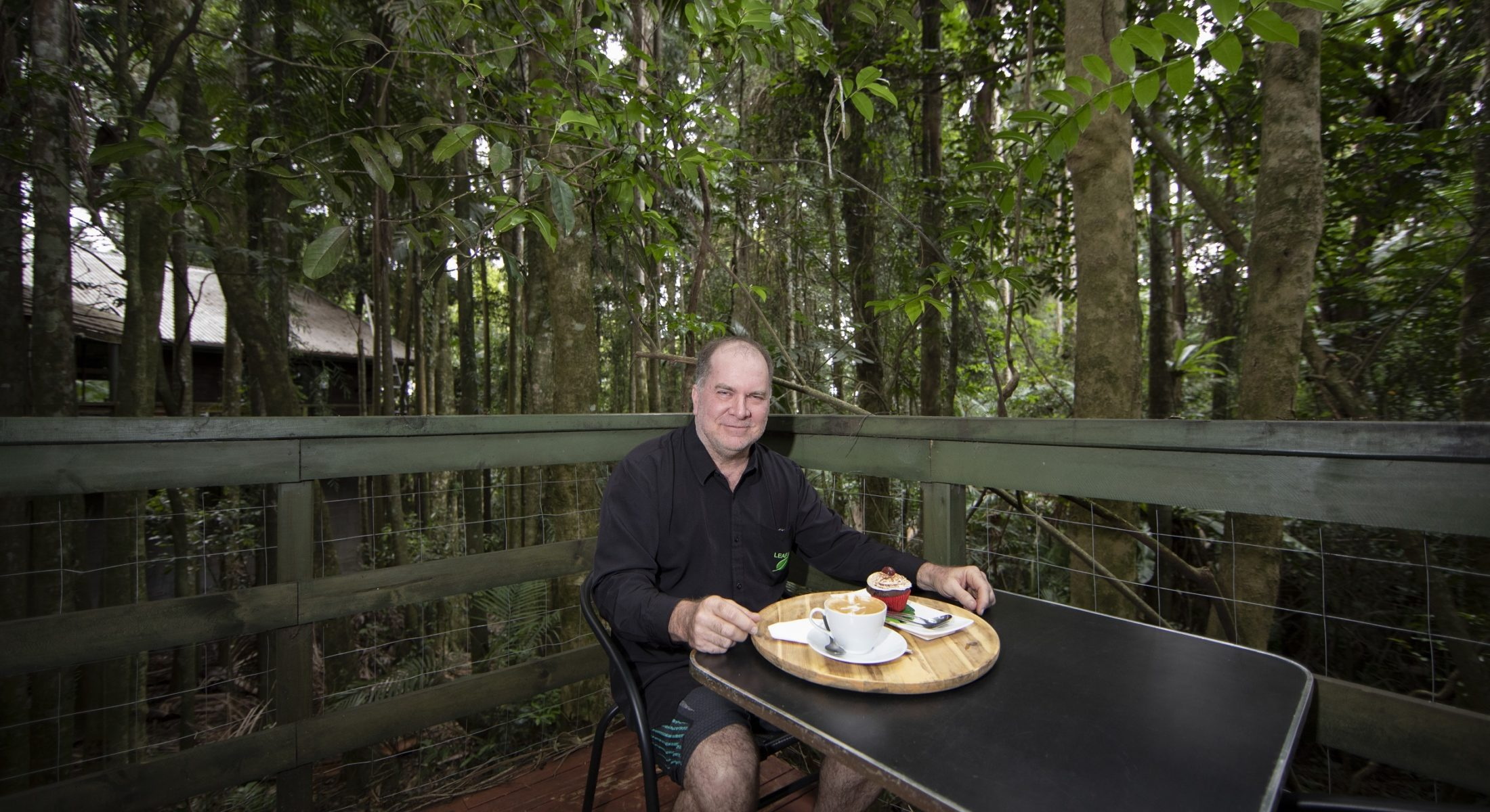 Leaf cafe coffee in the hinterland mount glorious moreton bay region