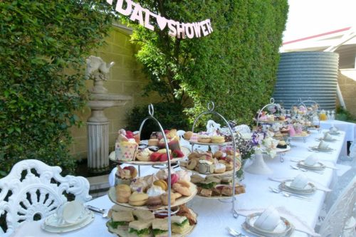 Reids Place Scarborough High Tea Bridal Showers Food Moreton Bay Region