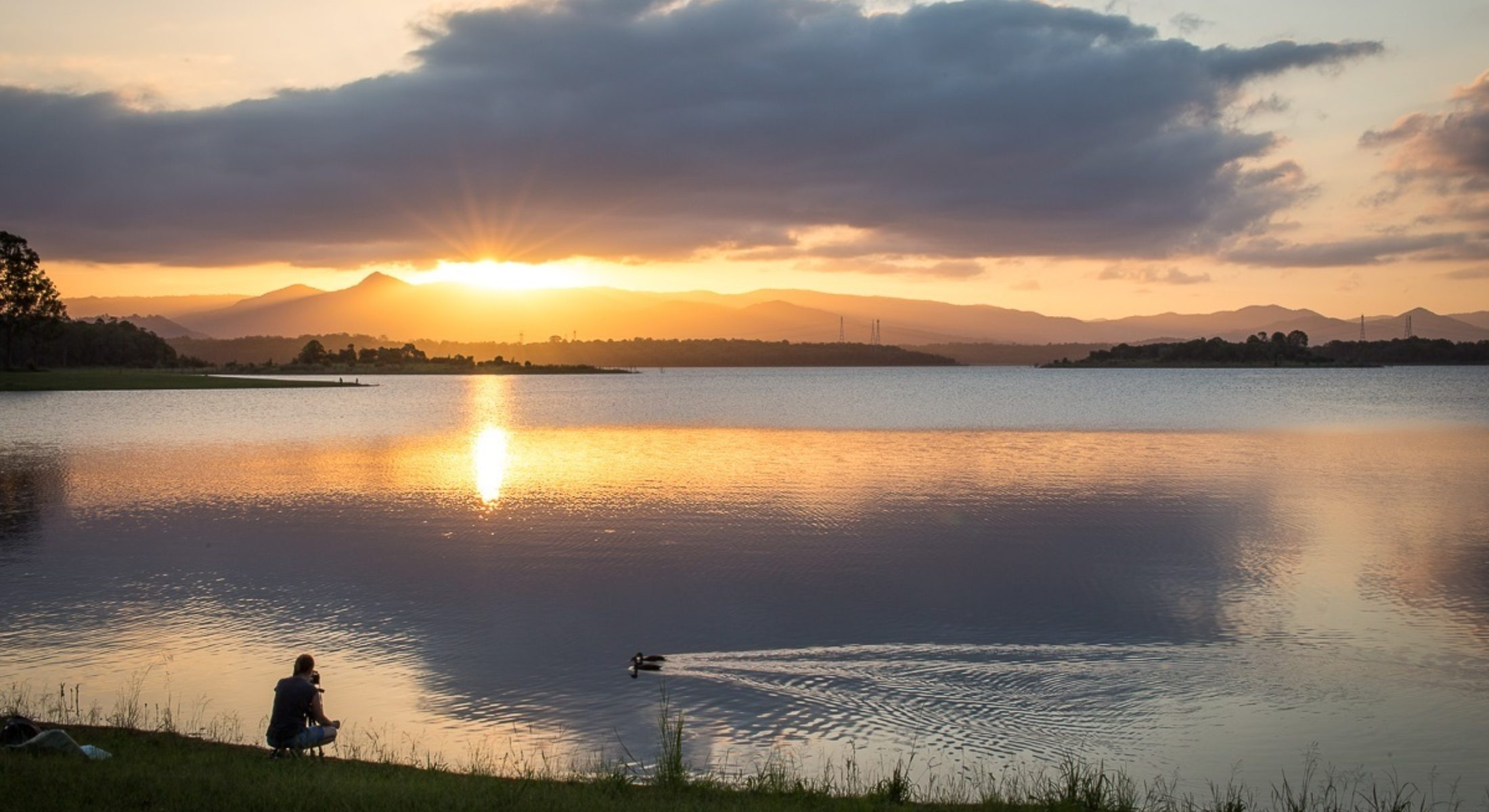 Sunset Lake Samsonvale Credit Hayley Roberts