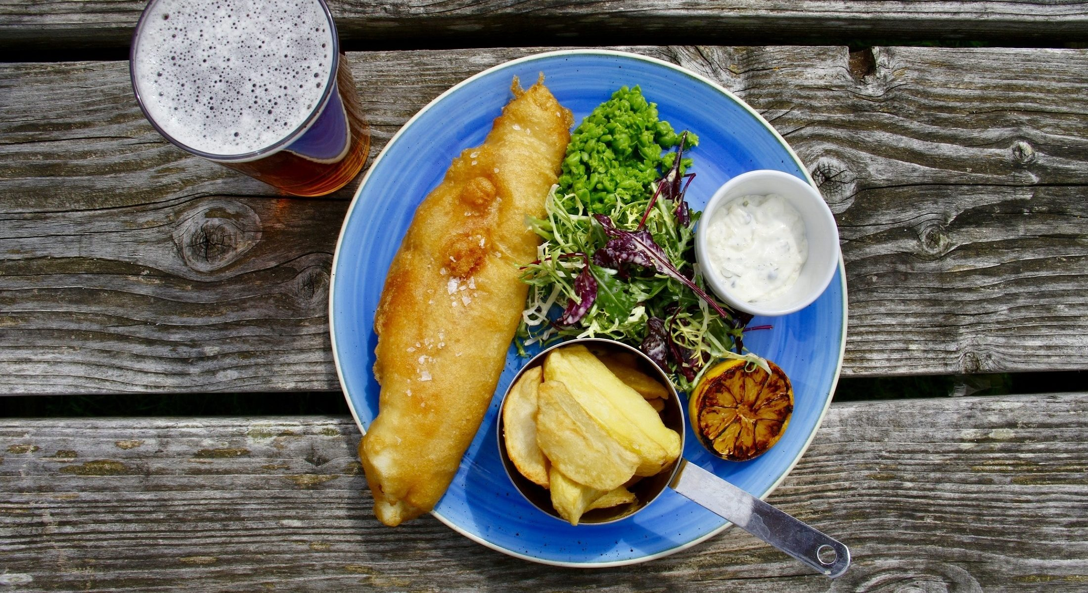Fish Chips Beer Seafood Moreton Bay Region