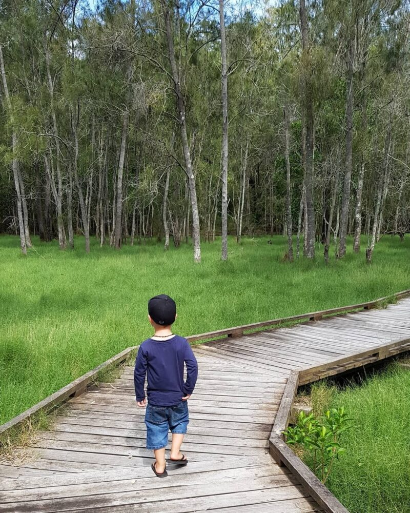 John Oxley Reserve Moreton Bay Region credit kids nature adventure