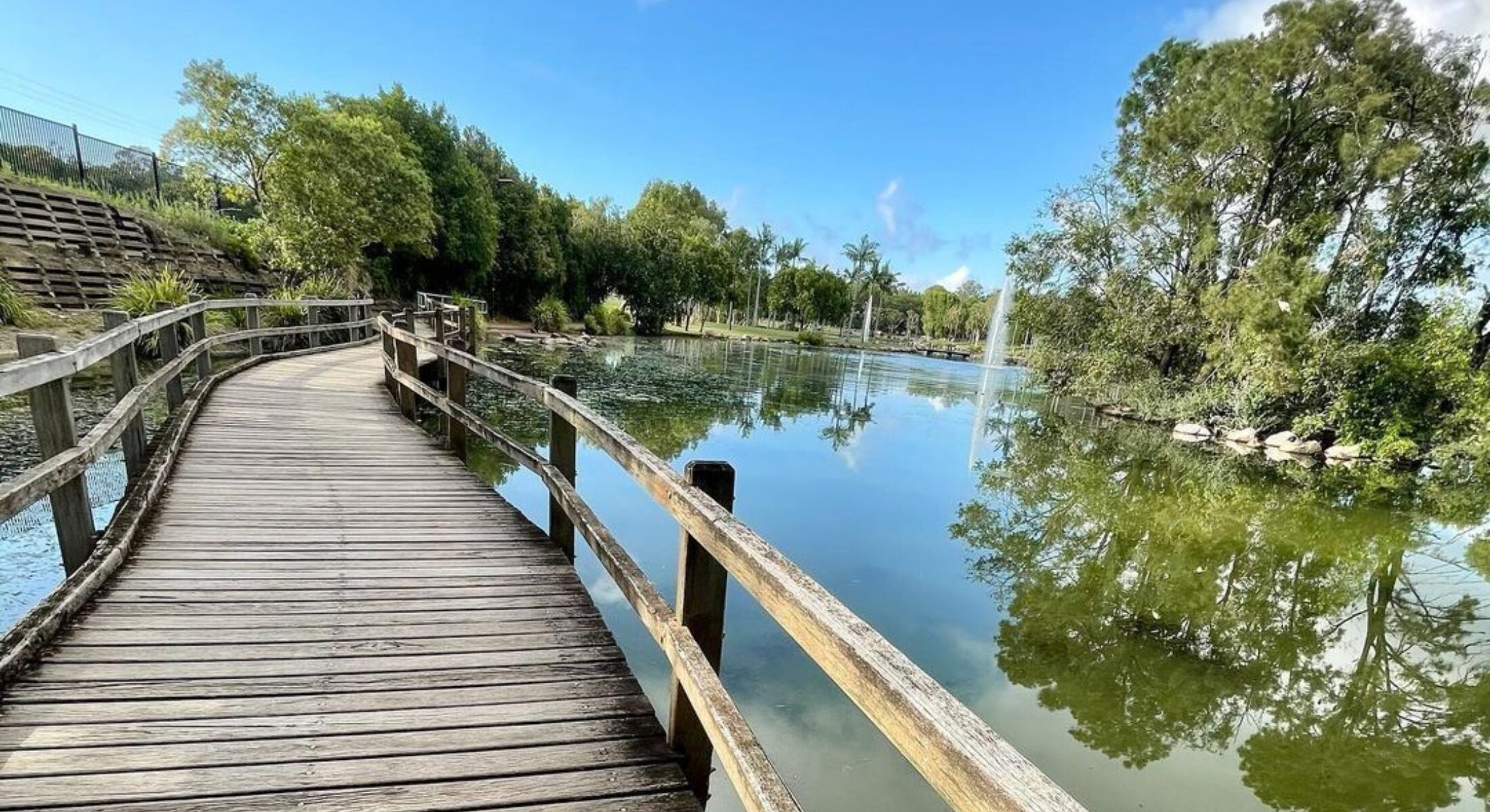 Centenary Lakes Caboolture Moreton Bay Region Walking Paths near Brisbane credit itsarlothechihuahua