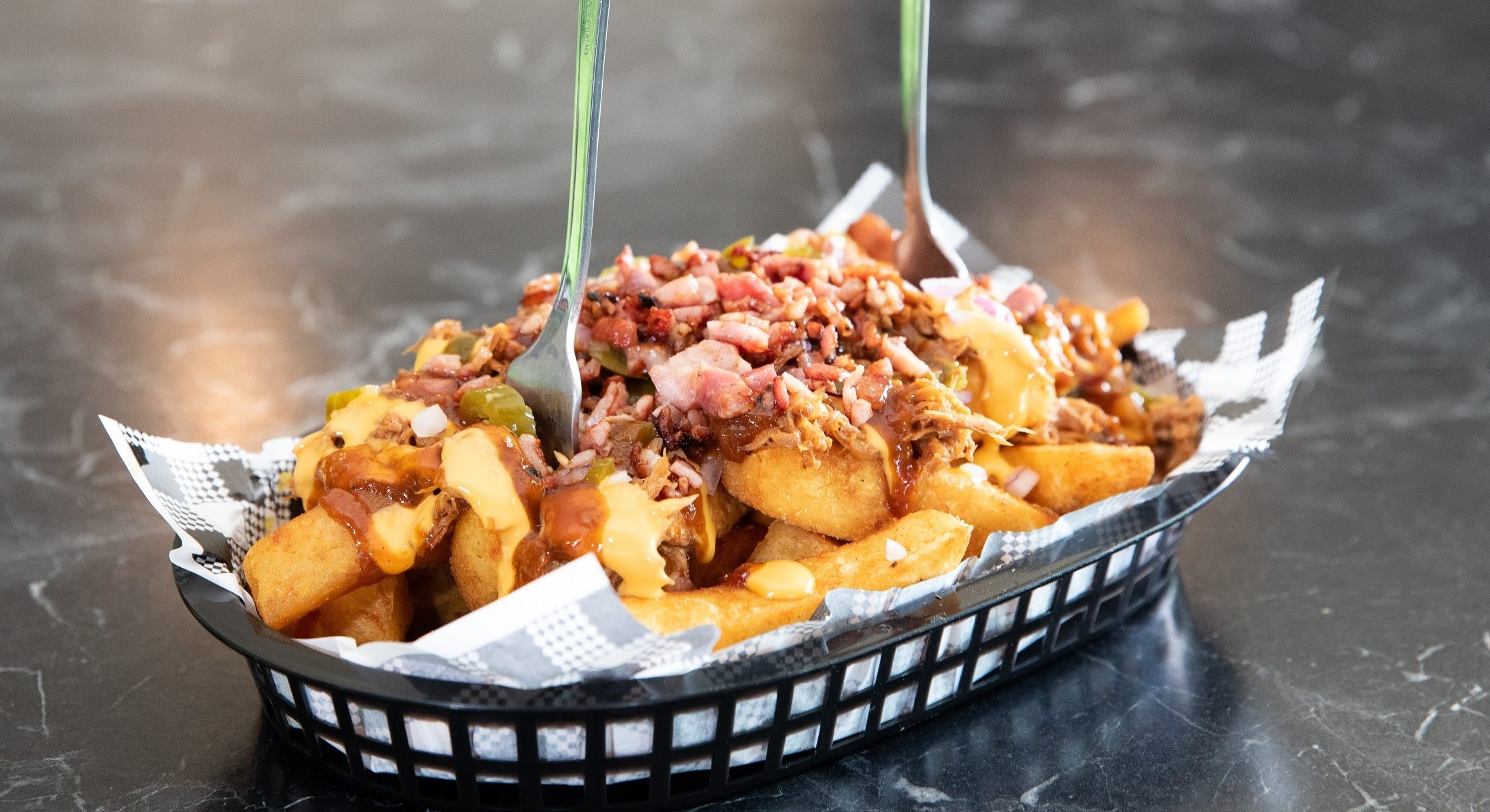 Beardys Bar And Kitchen Loaded Fries Moreton Bay Region