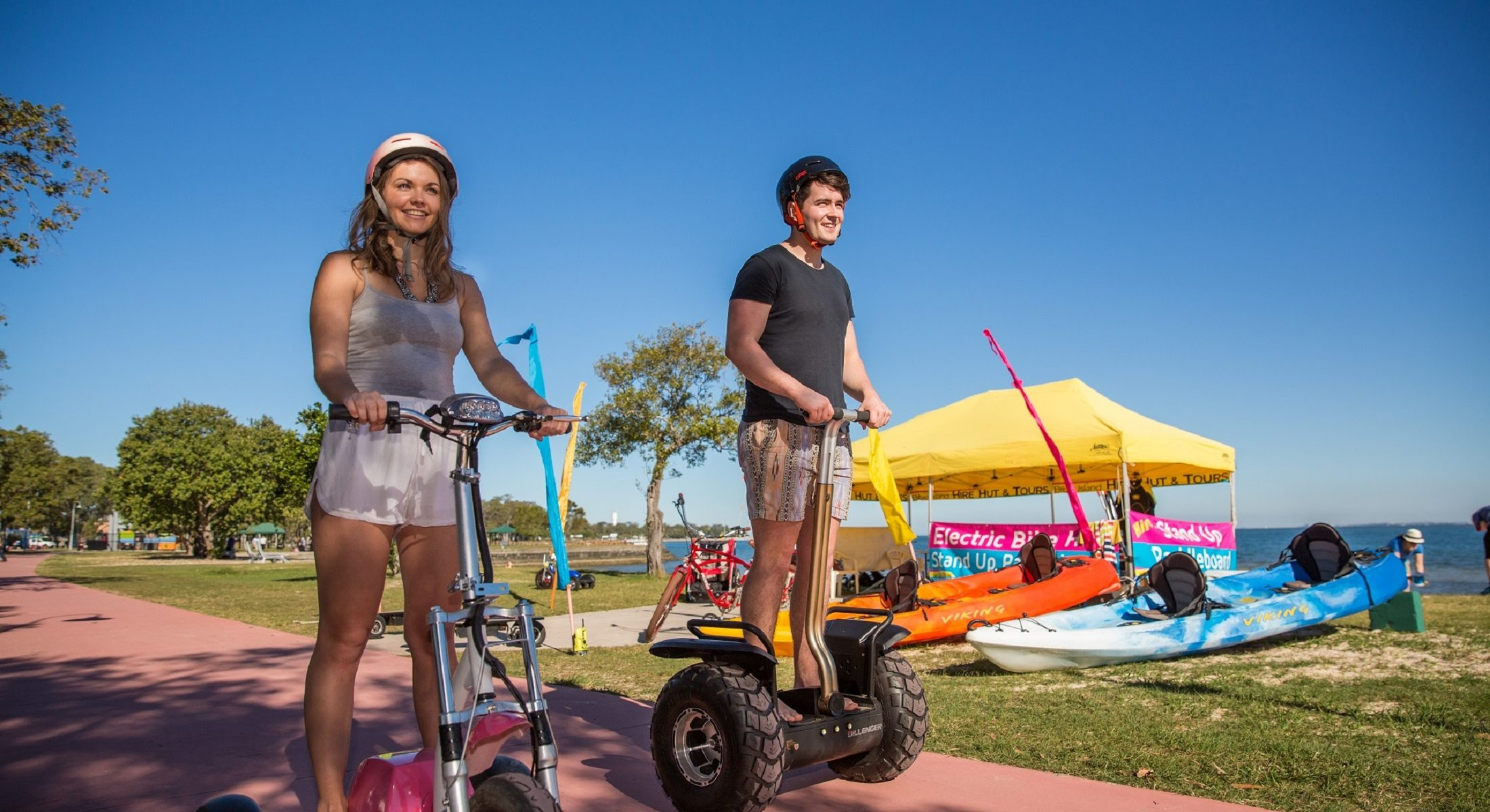 Bribie Hire Hut Segways Sup