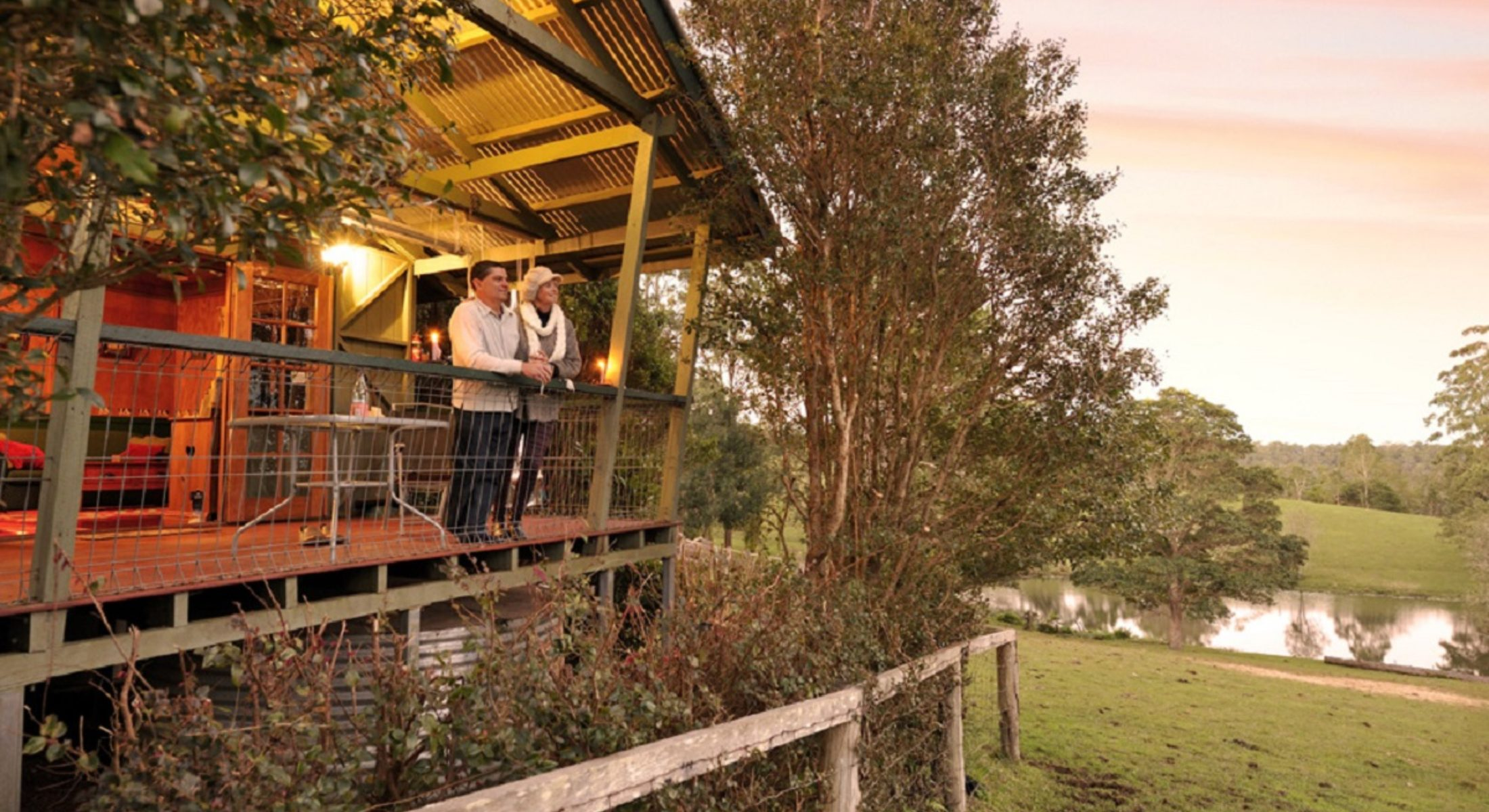 Brockhurst Farm In Ocean View Couple Cabin Moreton Bay Region