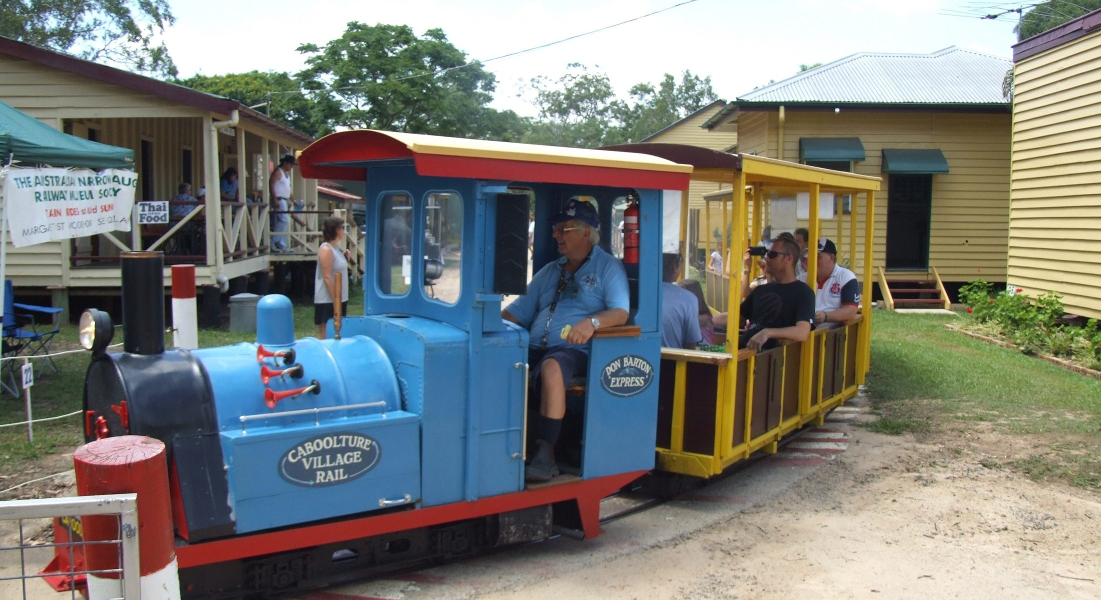 Caboolture Historical Village Train Ride