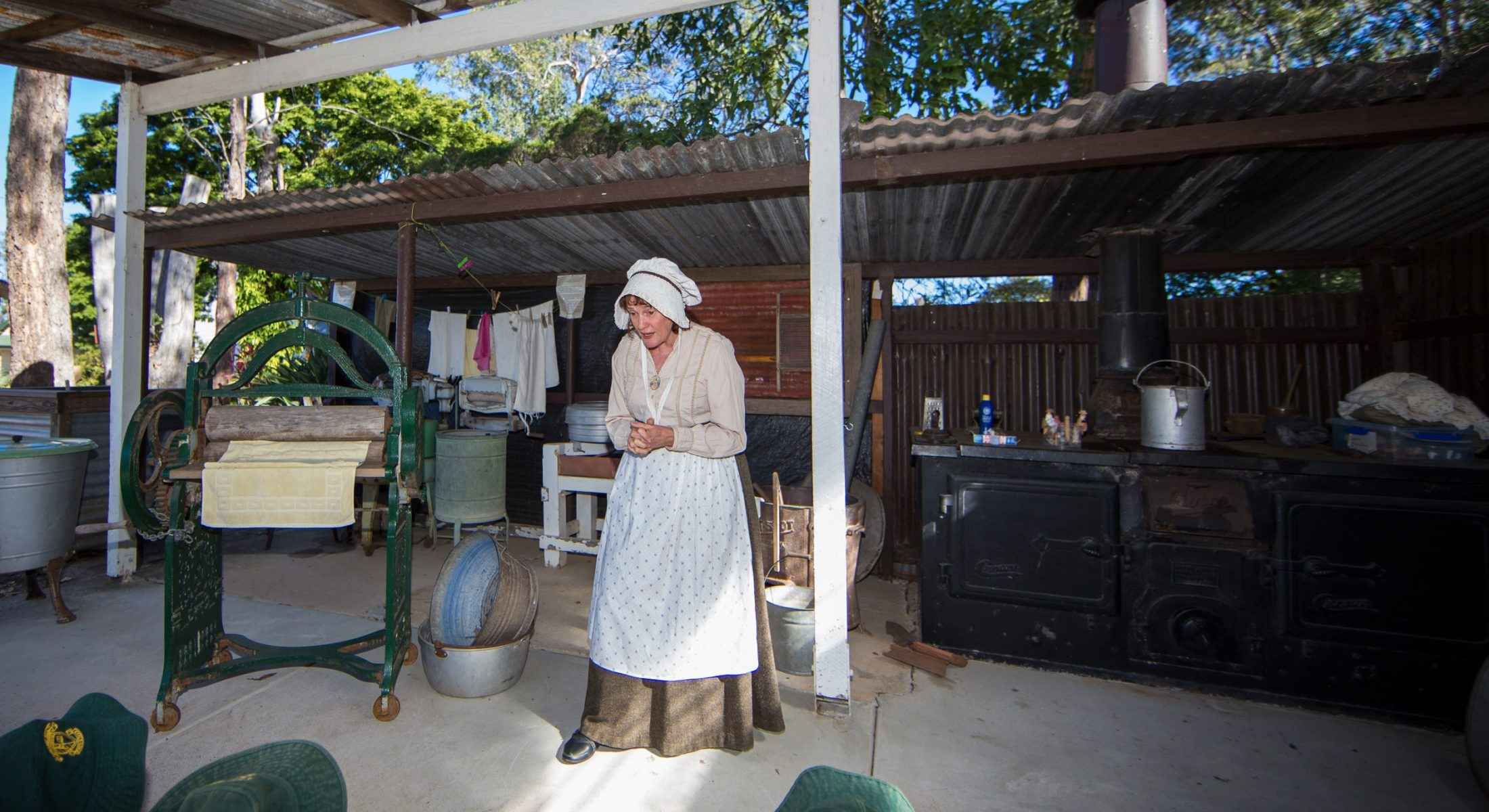 Caboolture Historical Village Reenactment Moreton Bay Region