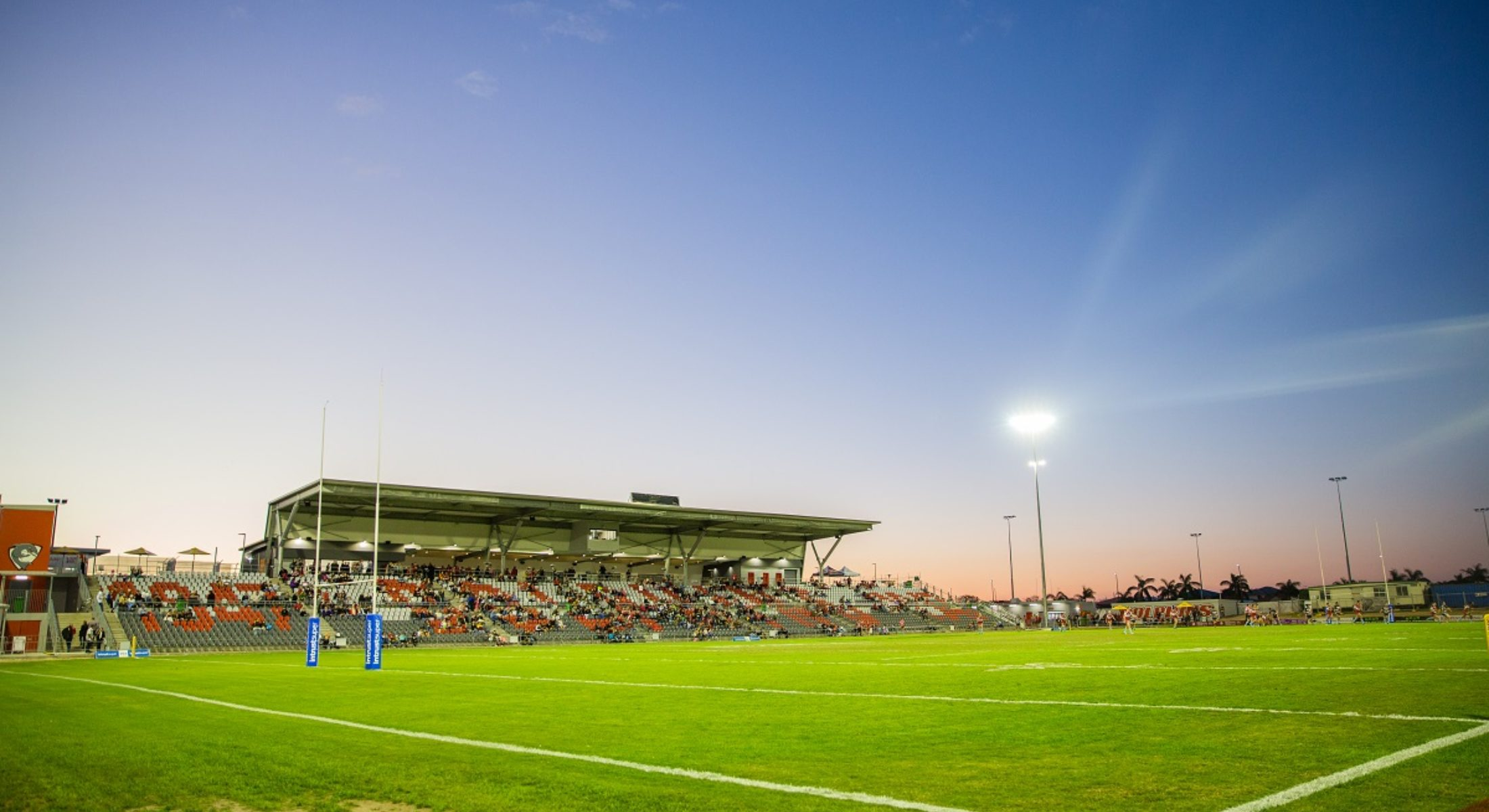 Redcliffe Dolphins Rugby Des Webb Stadium Grand Opening