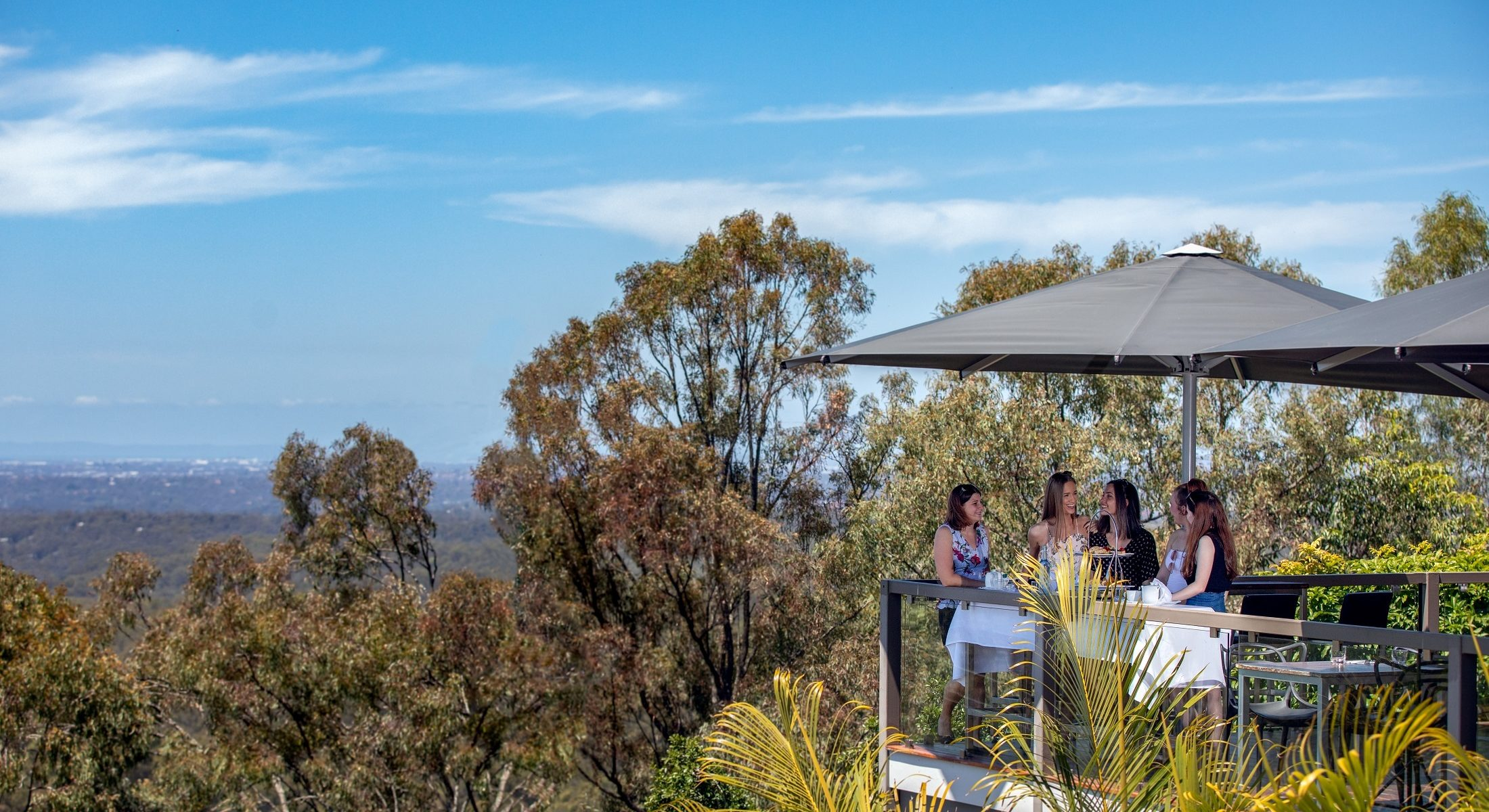 Mercure Clear Mountain Lodge Brisbane Queensland High Tea Drone Shoot Visit Moreton Bay Region