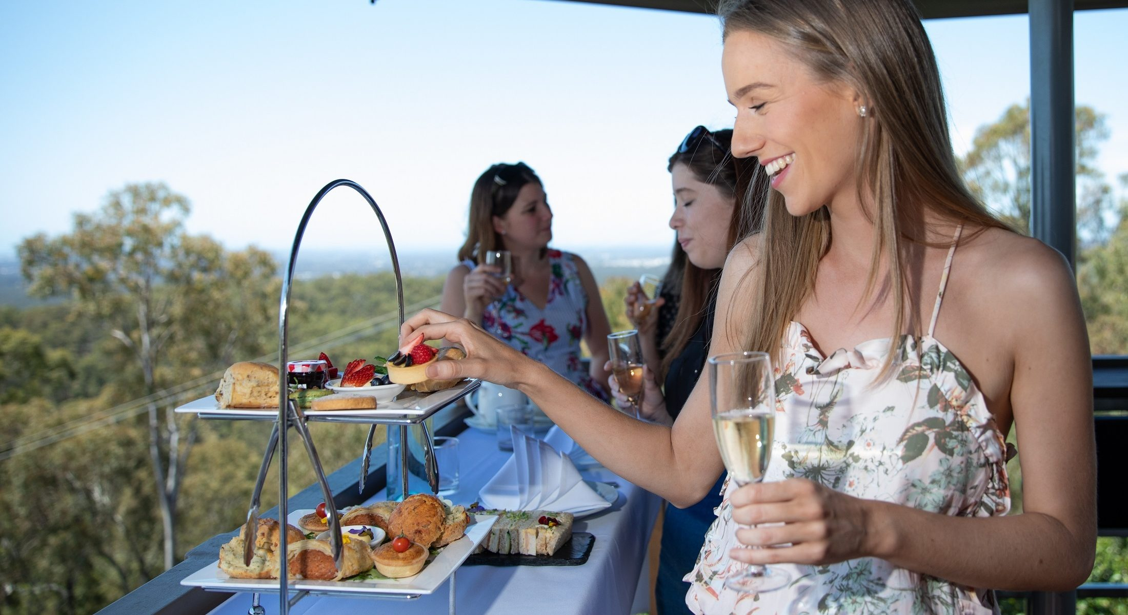 Mercure Clear Mountain Lodge High Tea Visit Moreton Bay Region