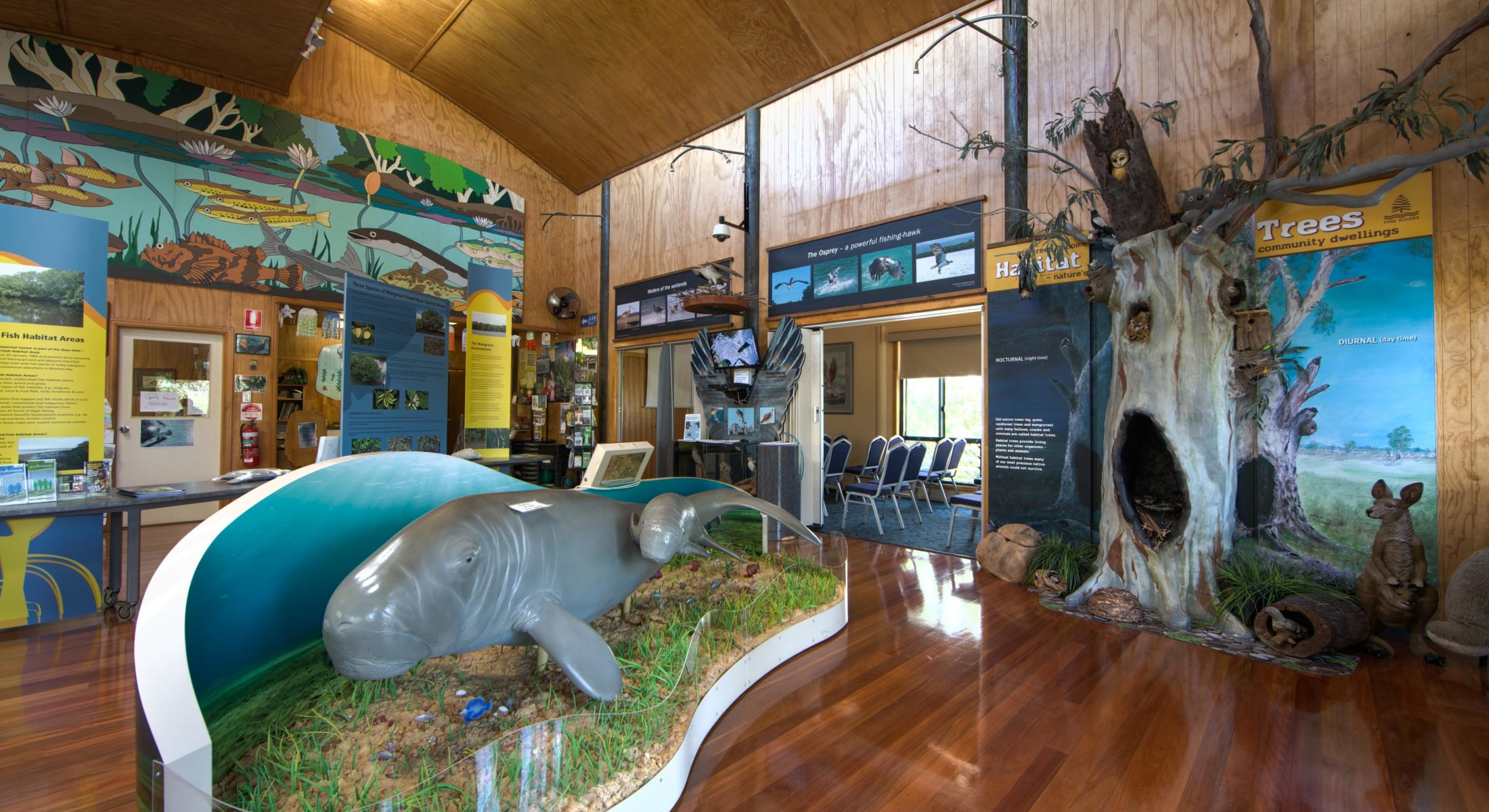 Osprey House Education Centre Dugong Moreton Bay Region
