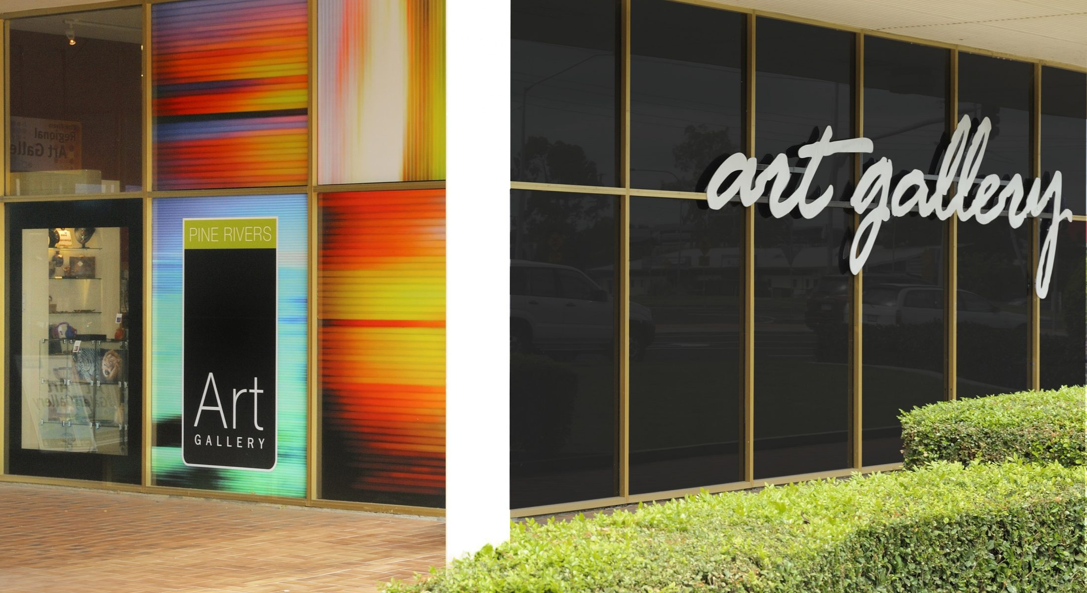 Pine Rivers Art Gallery Moreton Bay Region Queensland Front Entrance
