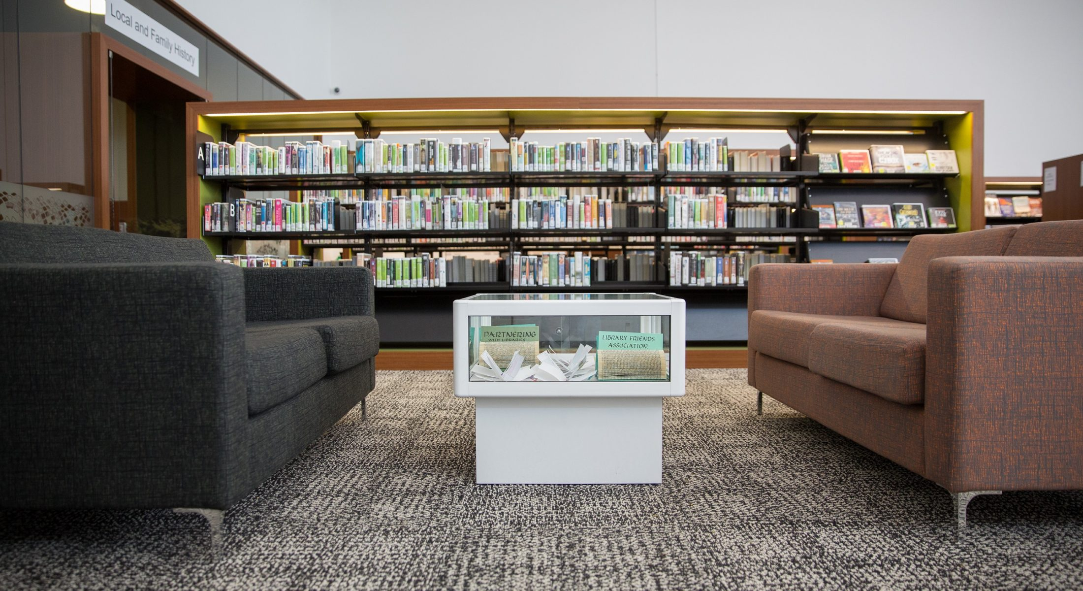 Caboolture Hub Couch Reading