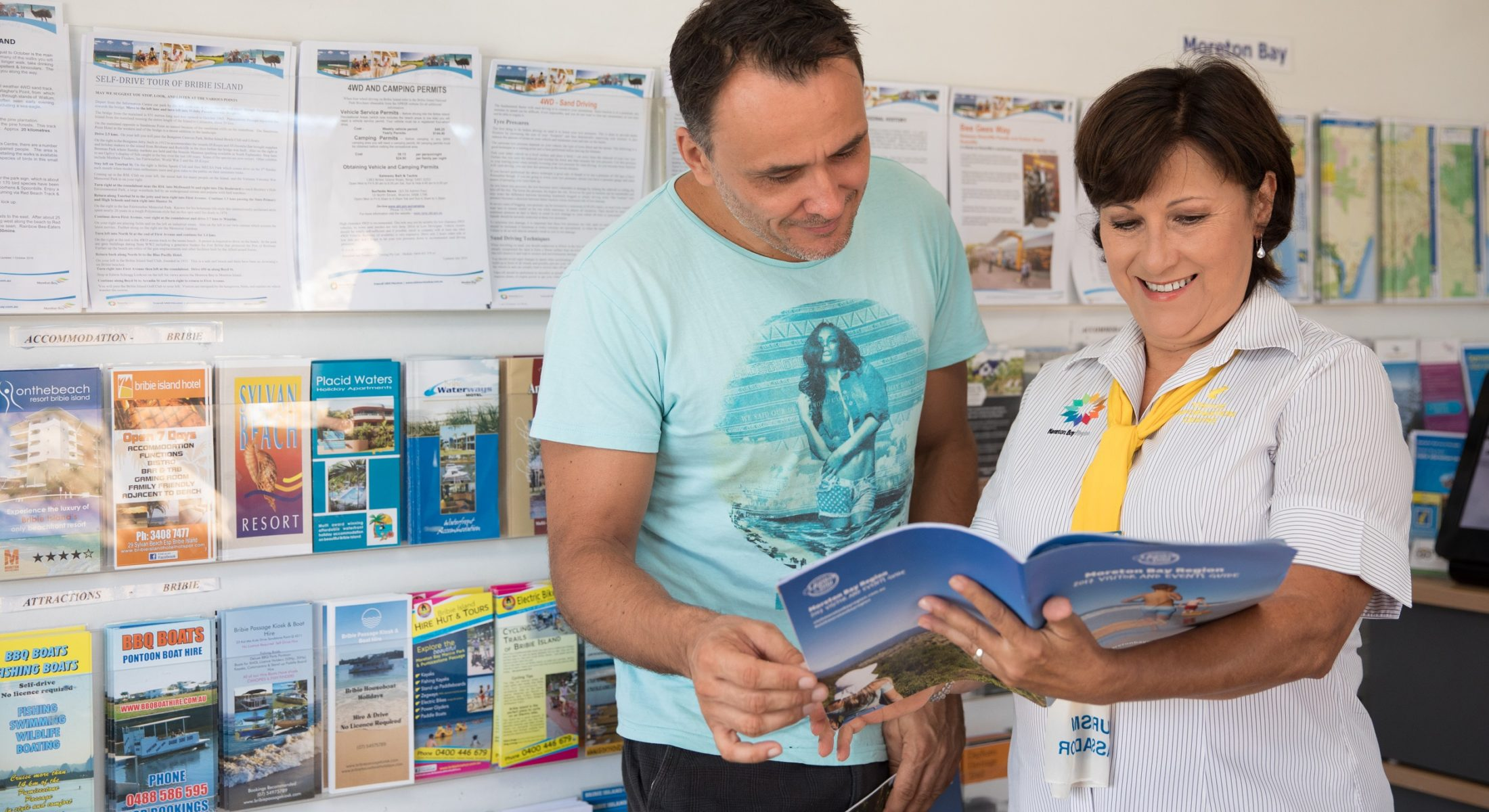 Rita Bribie Volunteer Visitor Information Centre Moreton Bay Region
