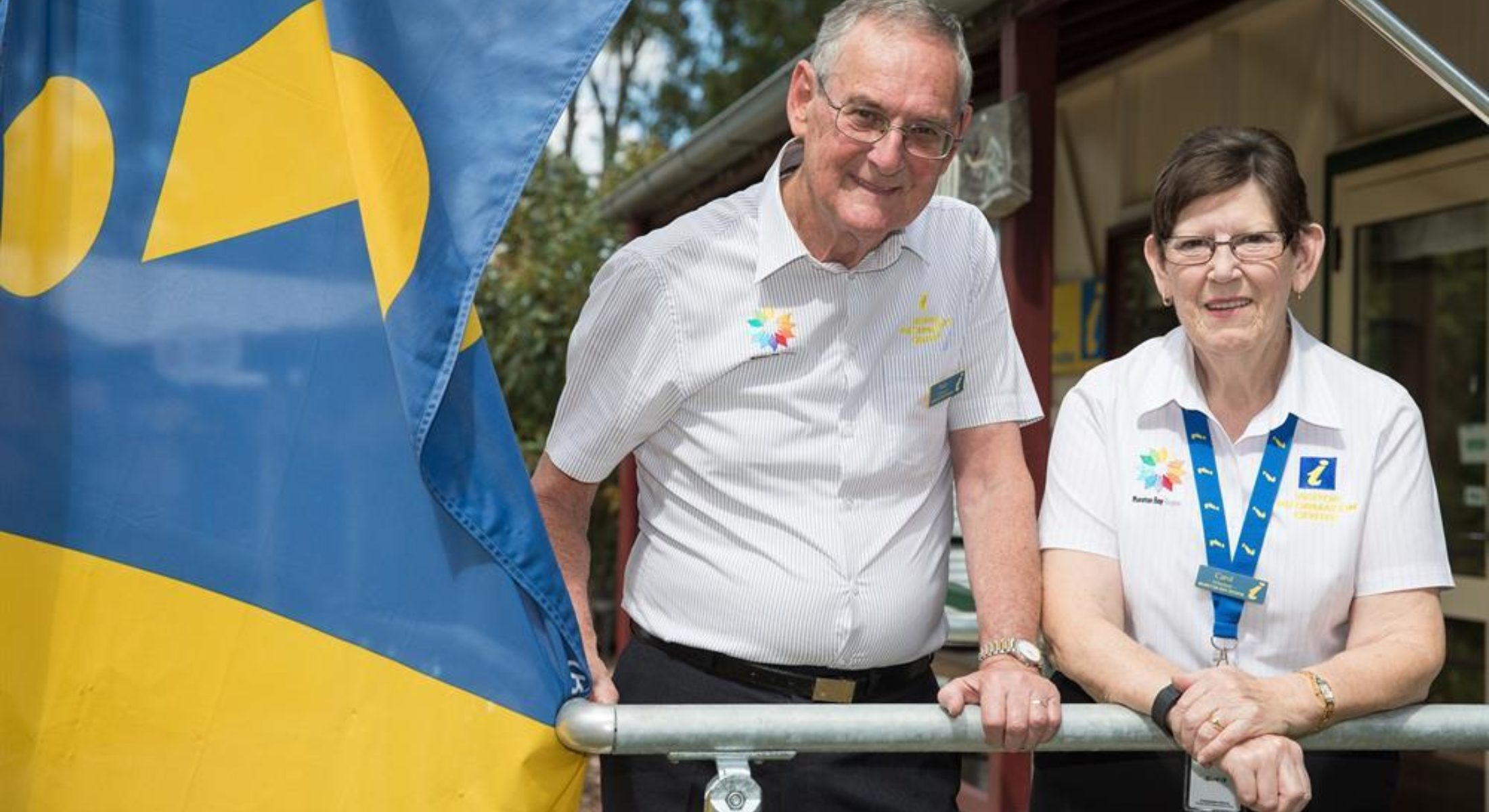 Samford Volunteers Carol And Peter Williams Moreton Bay Region