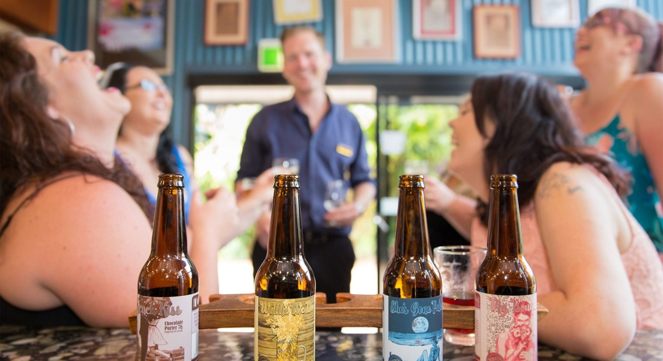 Mountain Wine Tours Visit Moreton Bay Region Beers Bridal Party