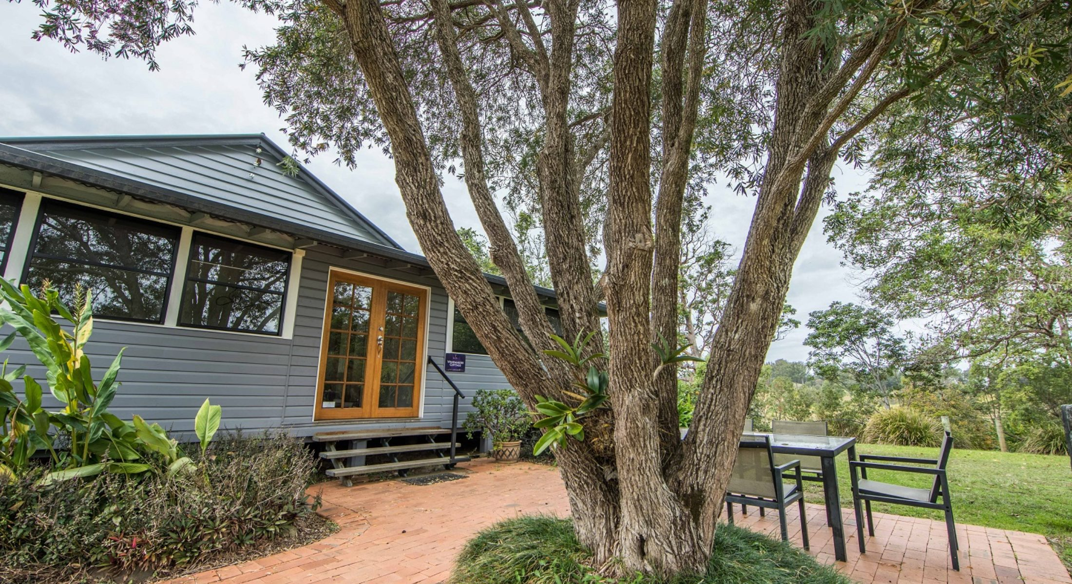 Ocean View Winery Accom Outdoor Patio Moreton Bay Region