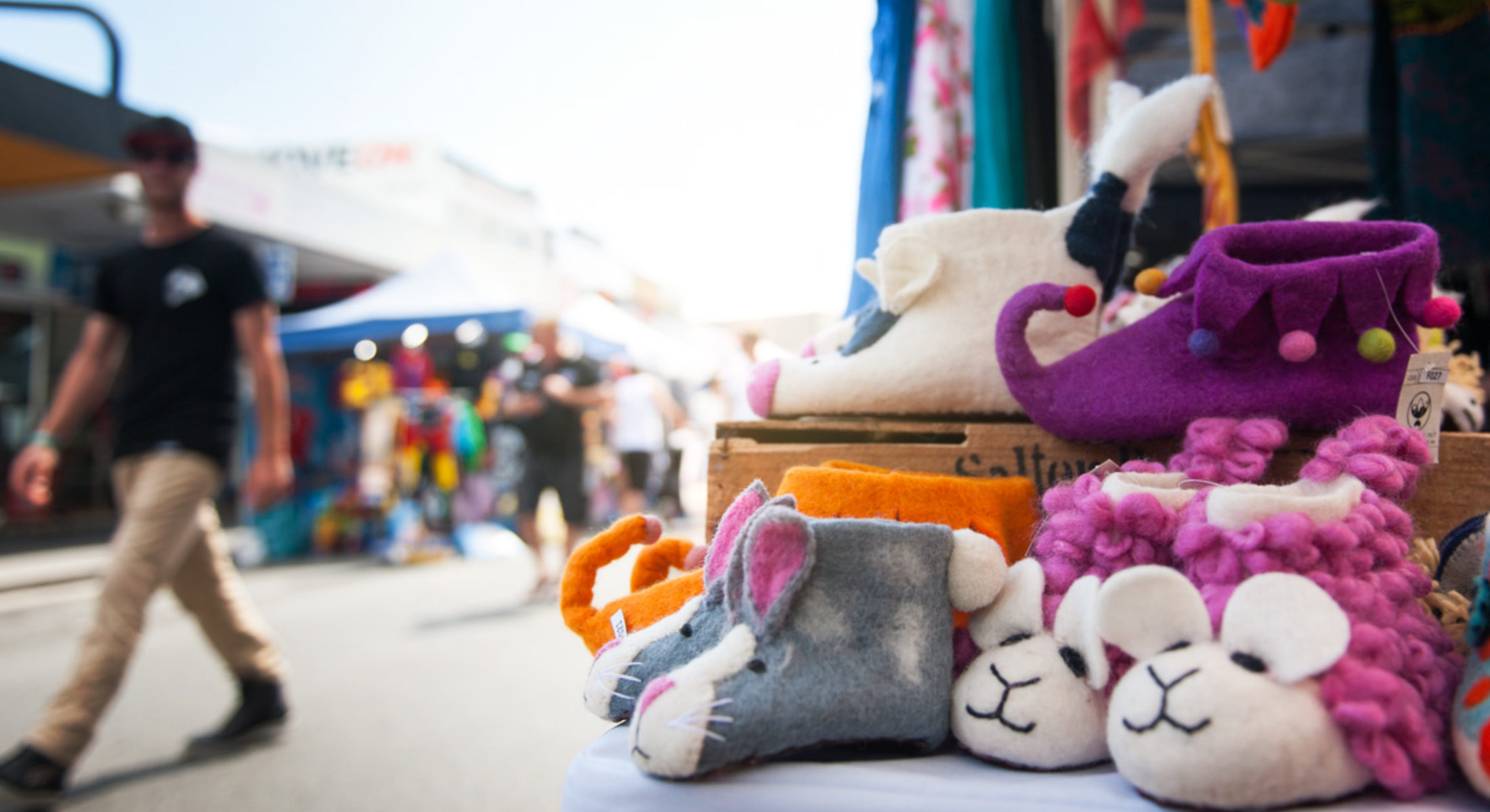 At The Markets Moreton Bay Region Kids Slippers