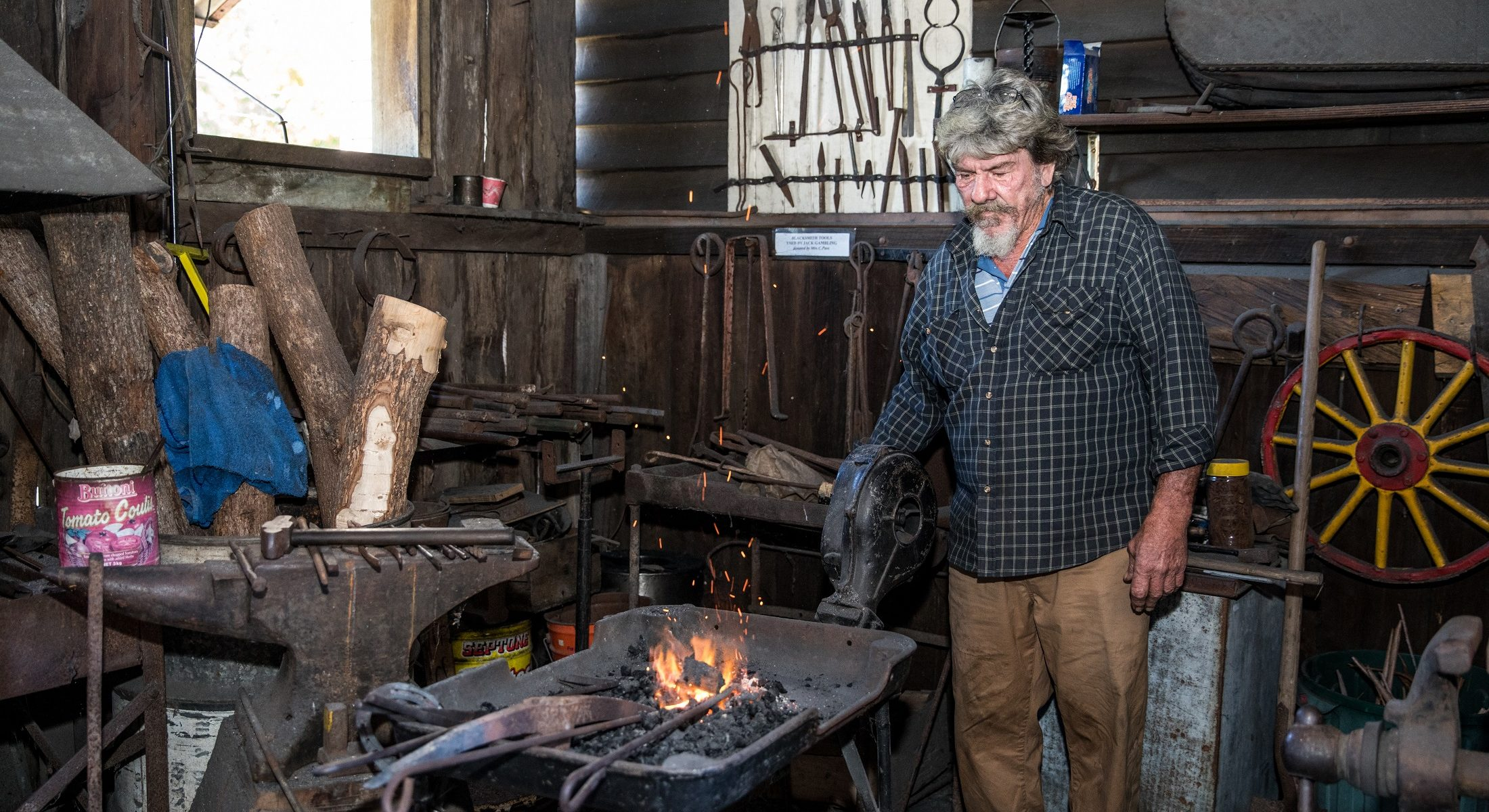Samford Museum Blacksmith Queensland Moreton Bay Region Australia