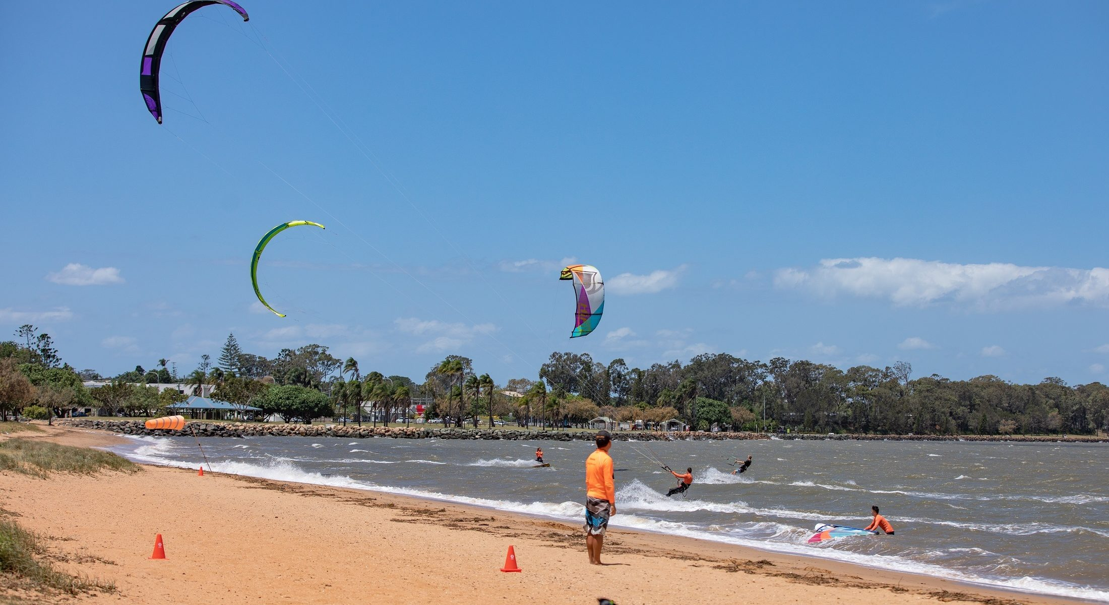 Surf Connect Kite Surfing Redcliffe Clontarf Brisbane Moreton Bay Region