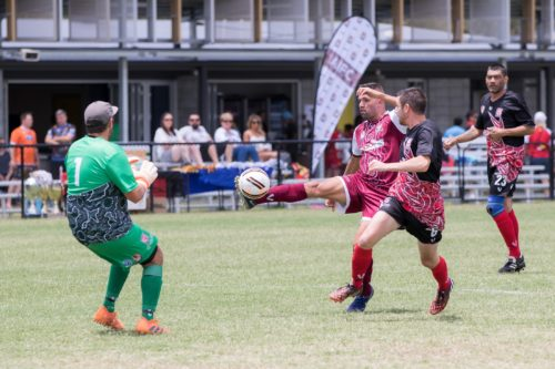 Annual Indigenous Football Ramone Close visit moreton bay