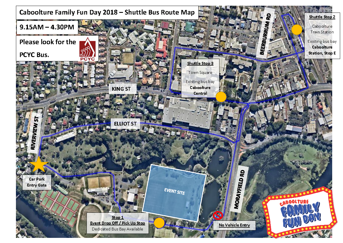 Caboolture family fun day visit moreton bay region events free shuttle bus negle Choice Image