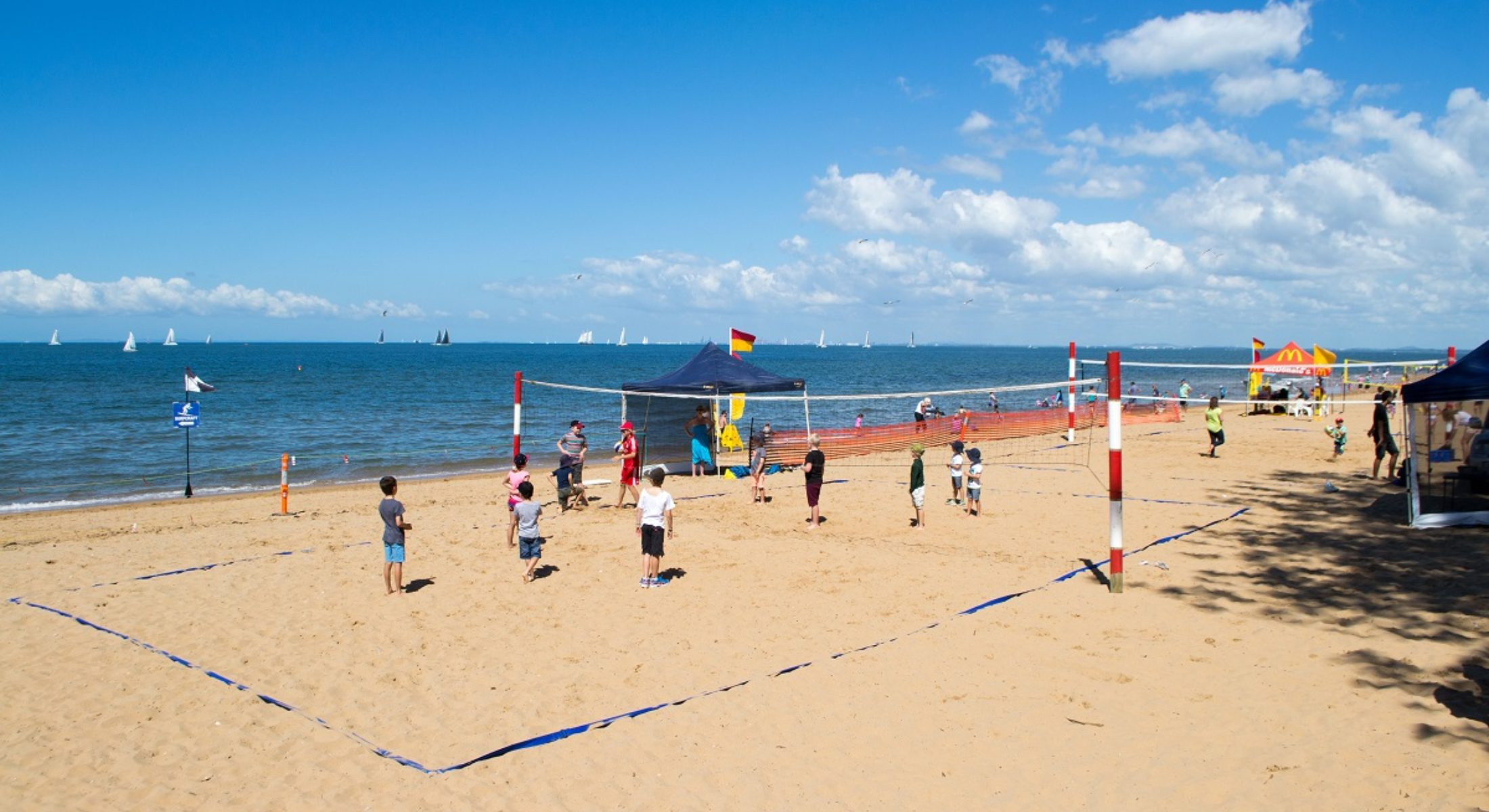 Redcliffe Festival Of Sails Good Friday Easter Free Event Beach Volleyball Moreton Bay Region