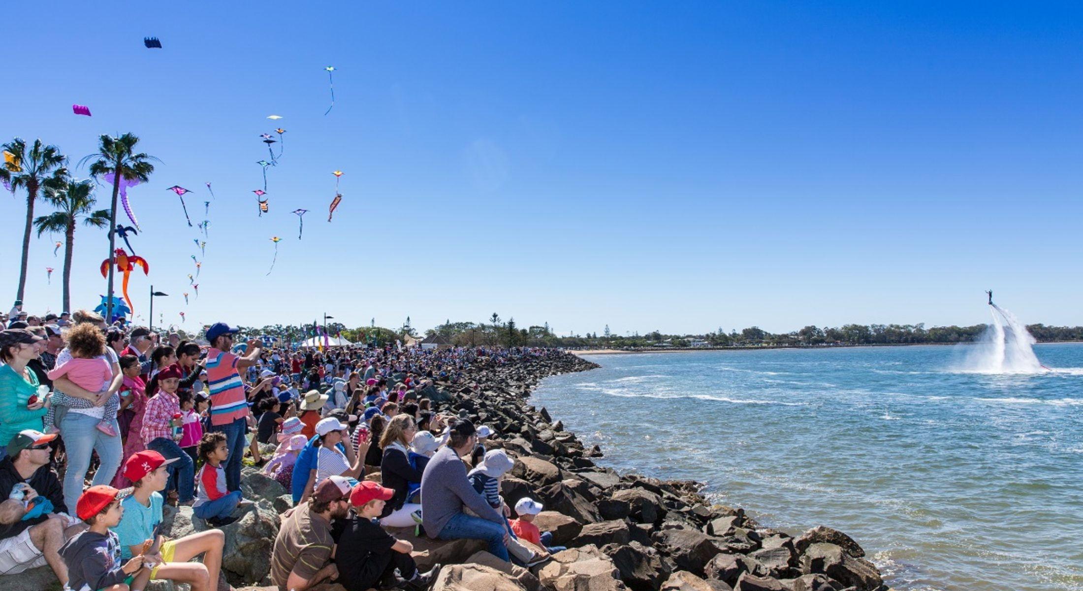 Redcliffe Kitefest Free Kids Event Entertainment Beach Moreton Bay Region