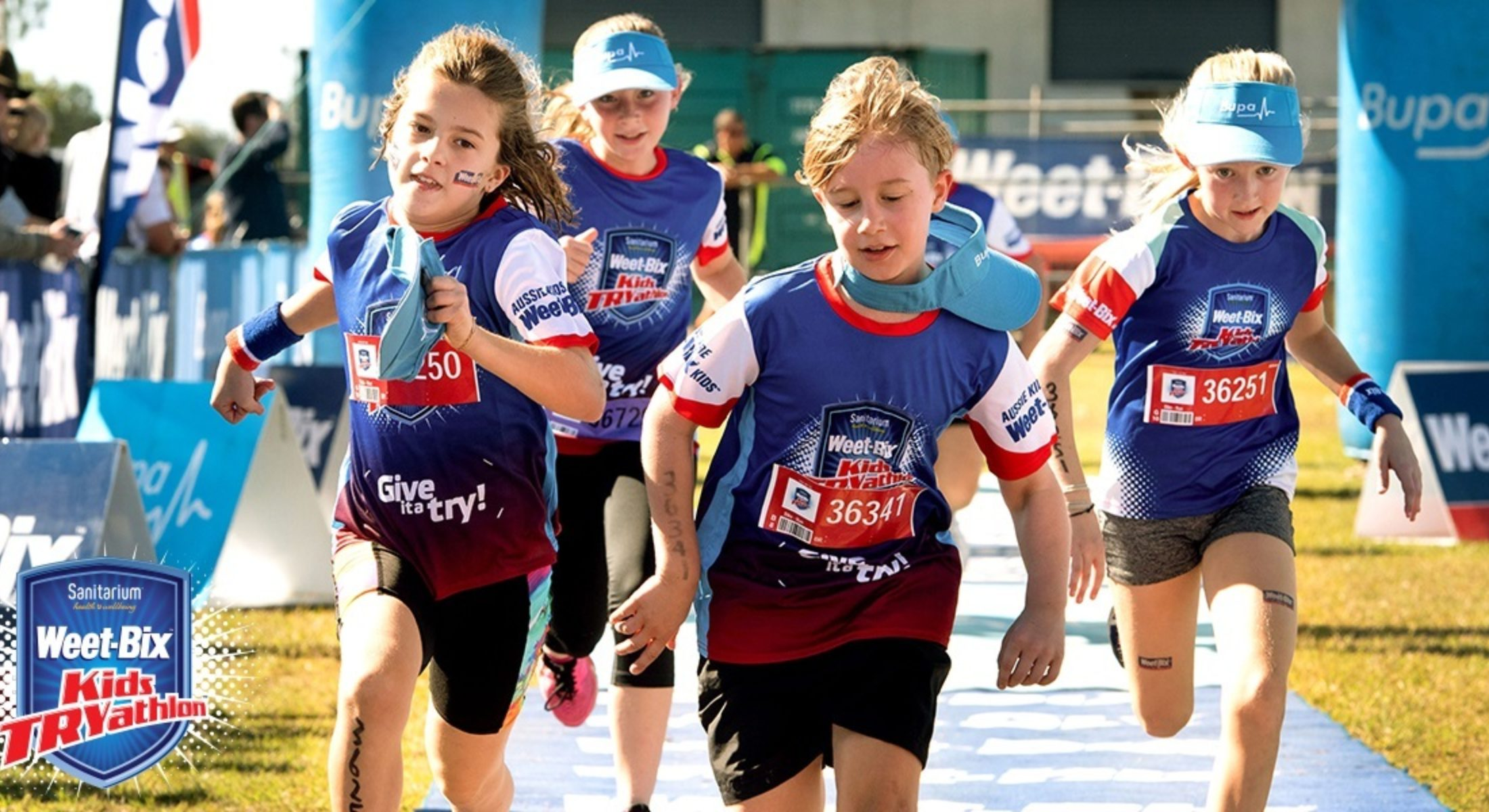 Weetbix Tryathlon Kids Sport Event Run Fitness Moreton Bay Region